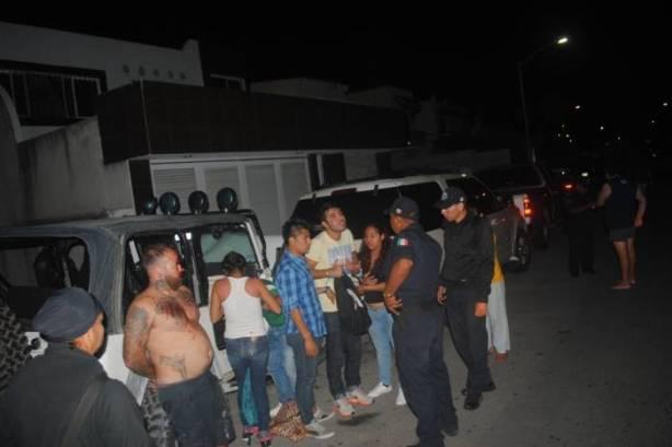 """""""Tayson"""" fue arrestado el sábado por la noche cerca de la Quinta Avenida."""