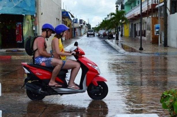 Muchas quejas recibió la Profeco por parte de los visitantes que rentaban motocicletas para su estancia en la ínsula.