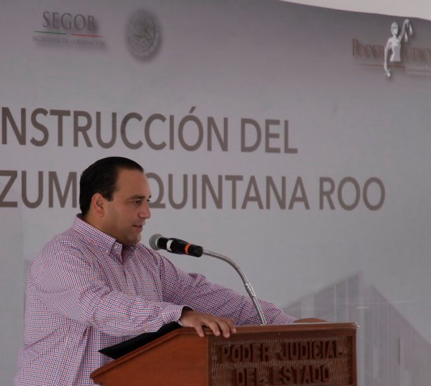 Con este inmueble y el nuevo Sistema de Justicia Penal se busca que la justicia sea más expedita y pronta para quintanarroenses y mexicanos, señala Roberto Borge.